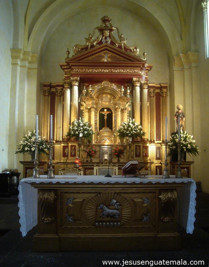 San Jose Catedral Antigua Guatemala Iglesia San Jose Catedral