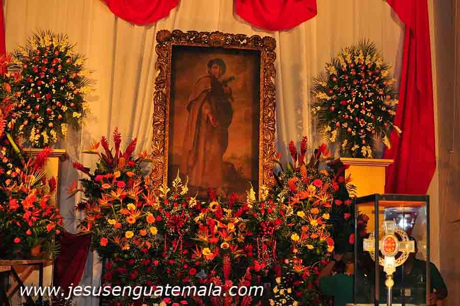 lluvia, impidieron a sus devotos visitarle en la Iglesia de la Merced