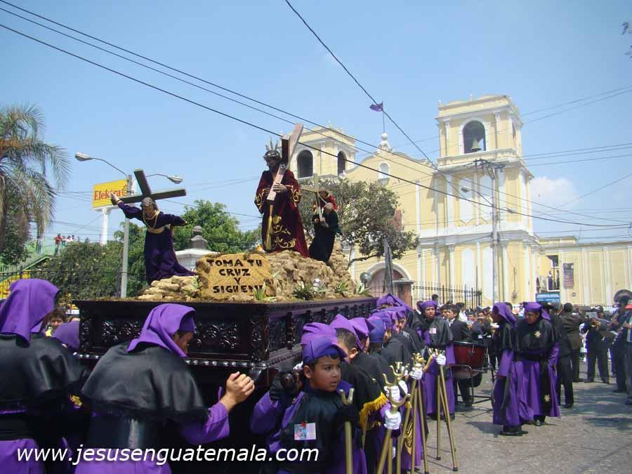 Procesión Infantil de la Parroquia, Foto: jesusenguatemala.com